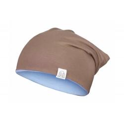 Müts, bambus, pruun-helesinine